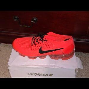 Nike Shoes | Nike Vapormax Neon Red